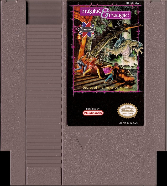 Might and Magic: Secret of the Inner Sanctum [NES]