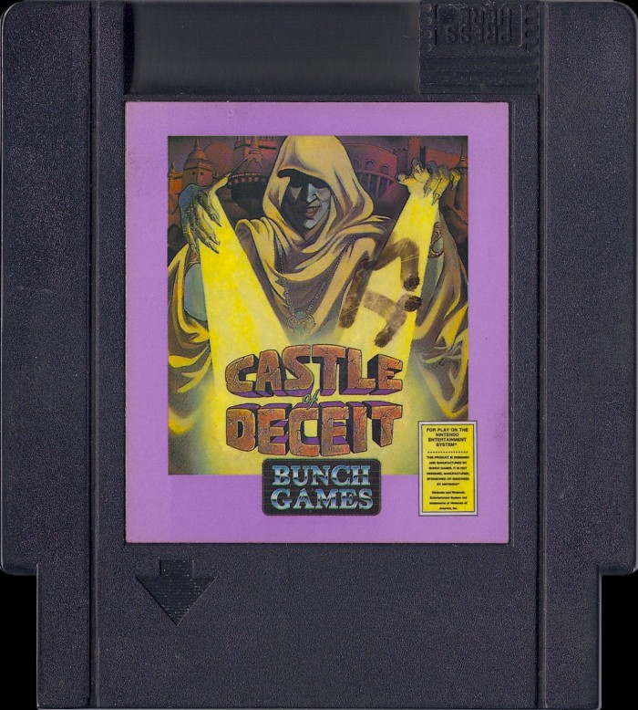 Castle of Deceit [NES]