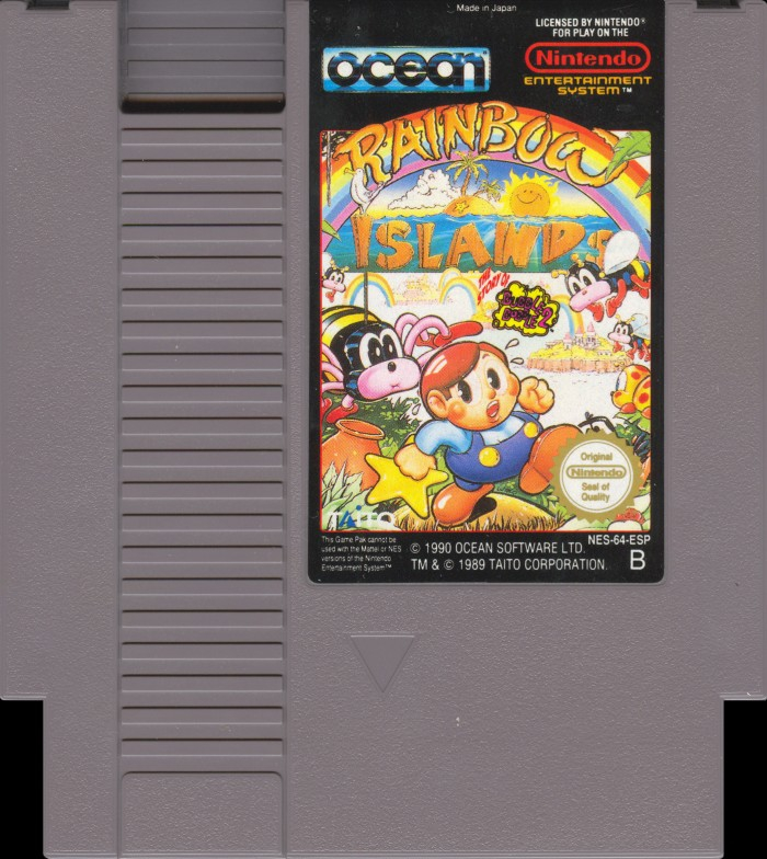 Rainbow Islands: The Story of Bubble Bobble 2 [NES]