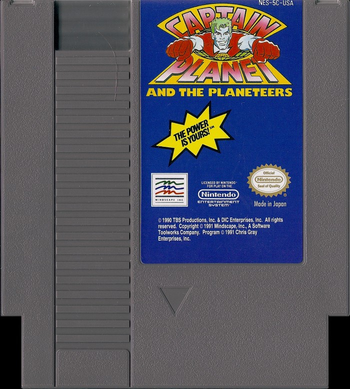 Captain Planet and the Planeteers [NES]