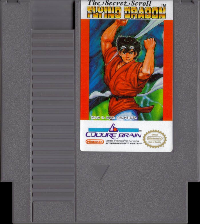 Flying Dragon: The Secret Scroll [NES]