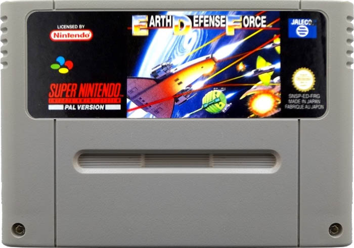 Earth Defense Force [SNES]