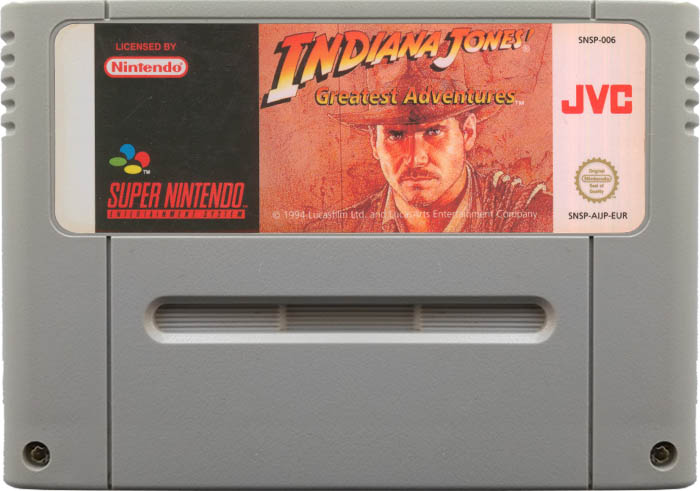 Indiana Jones' Greatest Adventures [SNES]