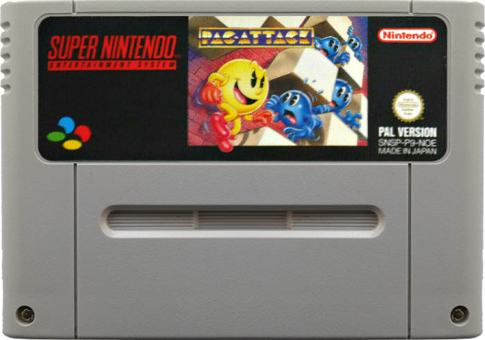 Pac-Attack [SNES]