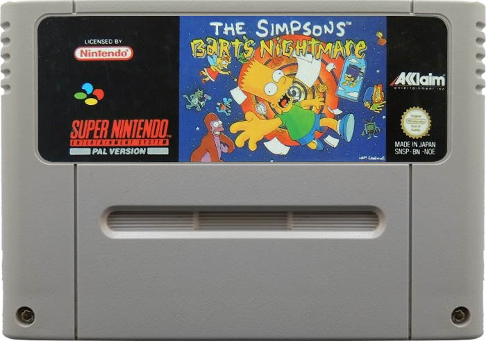 Simpsons: Bart's Nightmare, The [SNES]