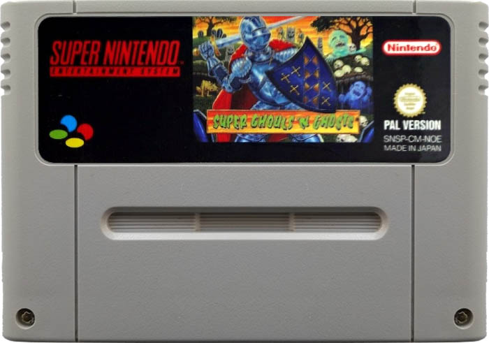 Super Ghouls 'n' Ghosts [SNES]