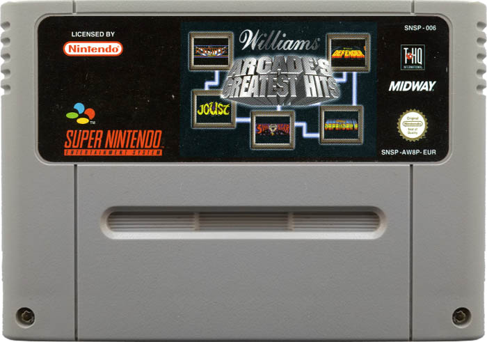 Williams Arcade's Greatest Hits [SNES]